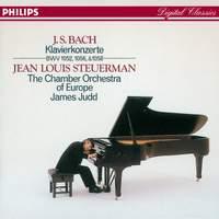 JS Bach: Three Piano Concertos