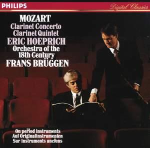 Mozart: Clarinet Concerto & Clarinet Quintet in A