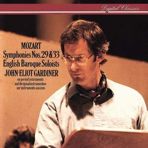 Mozart: Symphonies Nos. 29 & 33