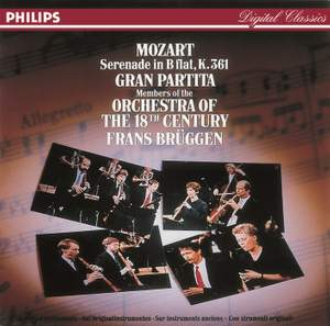 Mozart: Serenade No. 10 in B flat major, K361 'Gran Partita'