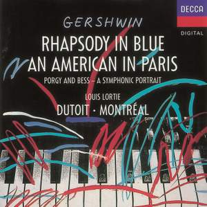 Gershwin: An American in Paris & Rhapsody in Blue Product Image