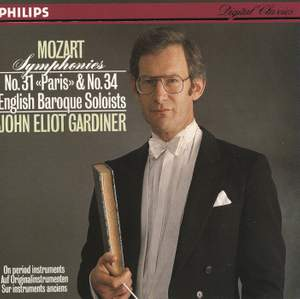 Mozart: Symphonies Nos.31 & 34