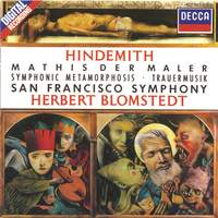 Hindemith: Symphonie 'Mathis der Maler' and other works