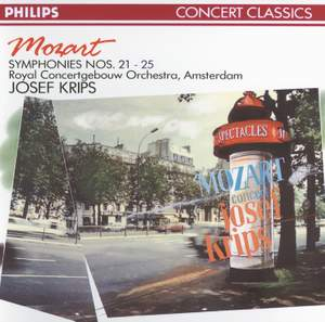 Mozart: Symphonies Nos. 21, 22, 23, 24 & 25