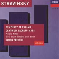 Stravinsky & Poulenc: Choral Music