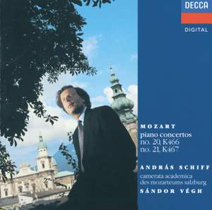 Mozart: Piano Concertos Nos. 21 & 20 Product Image
