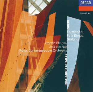 Berio: Formazioni, Folk Songs & Sinfonia