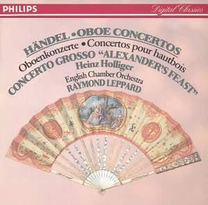 Handel: Oboe Concertos Nos. 1 - 3