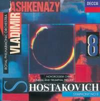 Shostakovich: Symphony No. 8, Funeral and Triumphal Prelude & Novorosslisk Chimes