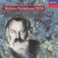 Brahms: Symphony No. 4 & Handel Variations & Fugue
