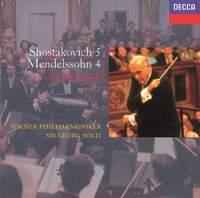 Mendelssohn: Symphony No. 4 & Shostakovich: Symphony No. 5