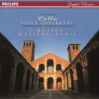 Alessandro Rolla: Concertos