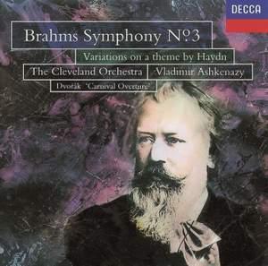 Brahms: Symphony No. 3 & St. Anthony Variations Product Image