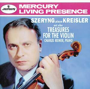 Szeryng plays Kreisler and other Treasures for the Violin