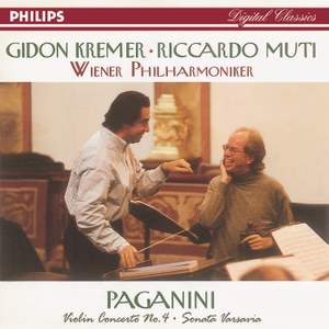 Paganini: Violin Concerto No.4 & Sonata Varsavia