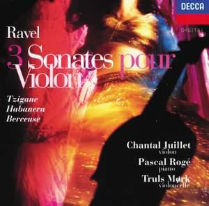 Ravel: 3 Sonatas, Tzigane, Habanera, Berceuse etc