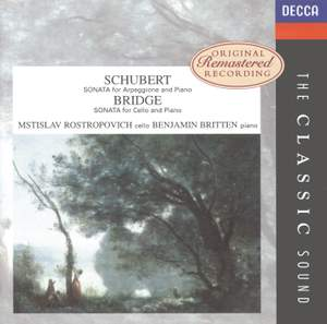 Schubert & Bridge: Cello Sonatas