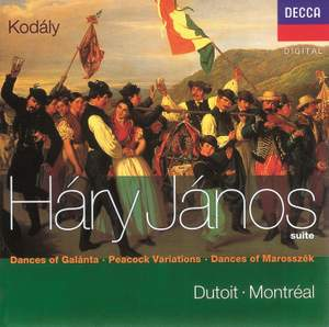 Kodály: Háry János Suite, Dances of Marosszék and other works Product Image