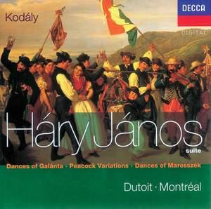 Kodály: Háry János Suite, Dances of Marosszék and other works