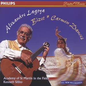 Alexandre Lagoya: Carmen Dances & other classical guitar works