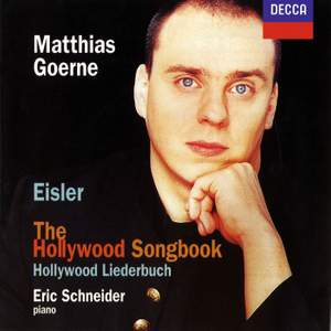 Eisler: The Hollywood Songbook