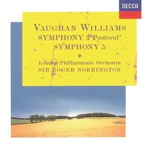 Vaughan Williams: Symphonies Nos. 3 & 5