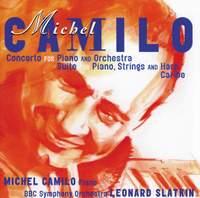 Michel Camilo: Concerto for piano & orchestra, Suite for piano, harp & strings & Caribe