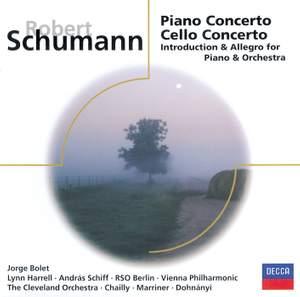 Schumann: Piano Concerto & Cello Concerto Product Image