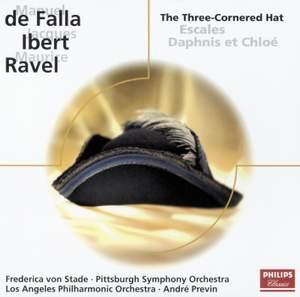 Falla: El sombrero de tres picos, Ibert: Escales & Ravel: Daphnis & Chloë