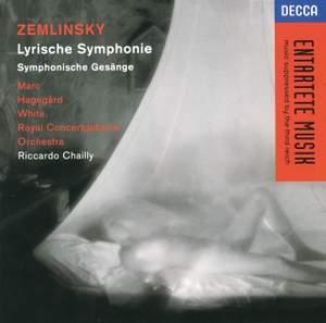 Zemlinsky: Lyrische Symphonie & Sinfonische Gesänge Product Image