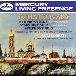 Tchaikovsky: Symphonies Nos.1-3 & Arensky: Variations on a Theme by Tchaikovsky