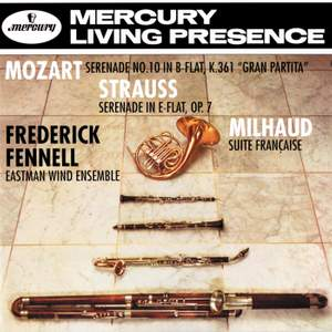Mozart, Strauss & Milhaud: Works for wind ensemble