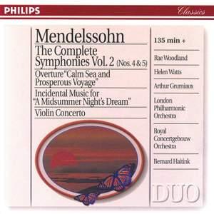 Mendelssohn: The Complete Symphonies, Vol. 2