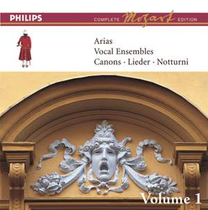 Mozart: Arias, Vocal Ensembles & Canons - Vol.1