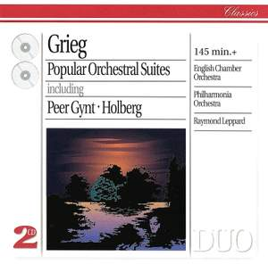 Grieg: Popular Orchestral Suites Product Image