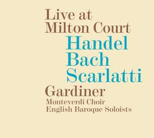 Handel, Bach & Scarlatti: Live at Milton Court Product Image