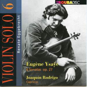 Renate Eggebrecht: Violin Solo Vol. 6