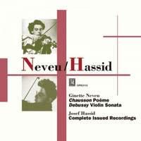 Ginette Neveu & Josef Hassid: Recordings