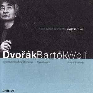 Dvorak, Bartók and Wolf: Orchestral Works