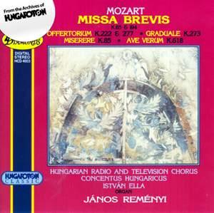 Mozart: Missae breves K65 & K194 etc