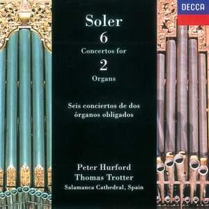 Soler, A: Concertos (6) for two organs