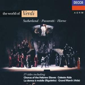 The World of Verdi Product Image