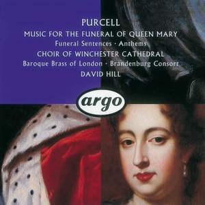 Purcell: Music for the Funeral of Queen Mary Product Image