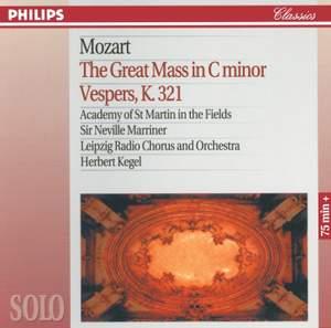 Mozart: Great Mass in C minor & Vesperae de Dominica