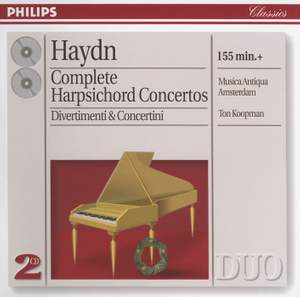Haydn: Complete Harpsichord Concertos & Divertimenti