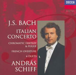 JS Bach: Italian Concerto, Four Duets & French Overture Product Image