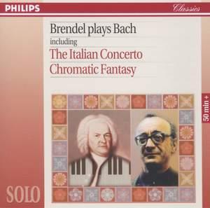 Brendel plays Bach