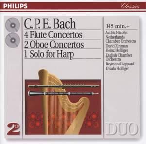 C.P.E. Bach: Flute & Oboe Concertos