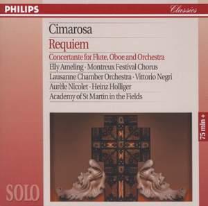 Cimarosa: Requiem & Concertante for Flute, Oboe & Orchestra