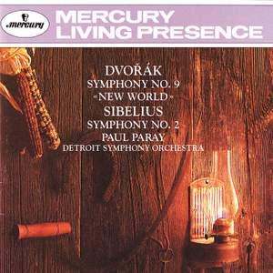 Dvorak: New World Symphony & Sibelius: Symphony No. 2